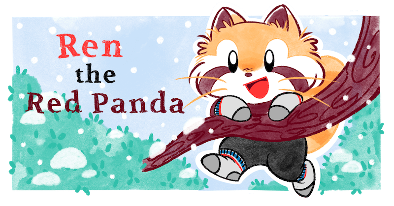 Ren the red panda welcome