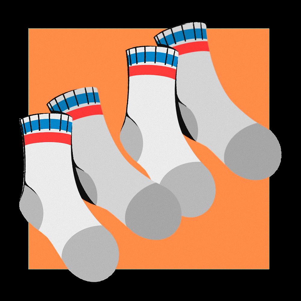 Four socks